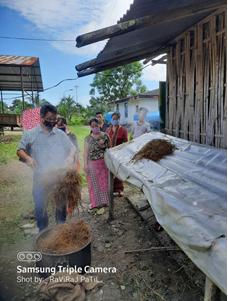 Mushroom Farming , Tezu, Arunachal Pradesh