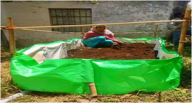 Ukhimath ( Vermi Beds) Demonstration and Distribution in Rudraprayag