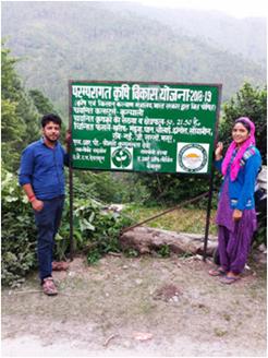 Sign Board Jakholi, Rudraprayag