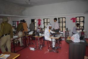 tailor training in Jammu Jail